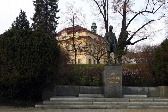 JUDr. Jan Podlipný a Libeňský zámek